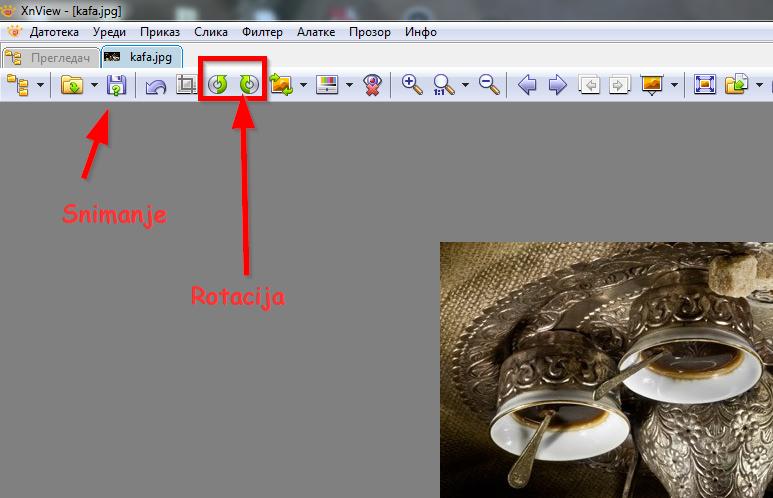 program xnview za rotiranje slika
