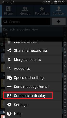 Kako da na Androidu prikažete samo kontakte koje želite?