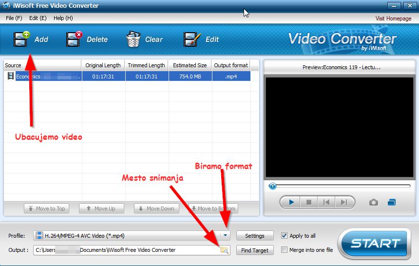 Kako konvertovati avi u mp4 format i obrnuto?