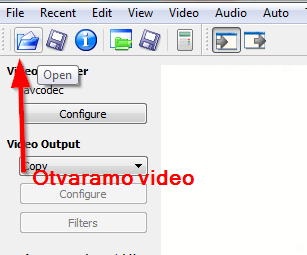 otvaramo video