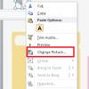promeni ikonicu zvucne datoteke