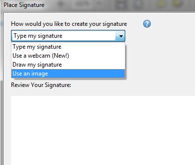 ubaciti potpis u pdf dokument