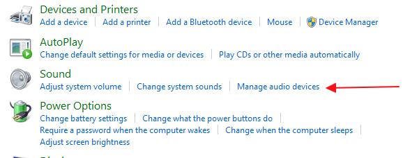 upravljaj zvucnim uredjajima