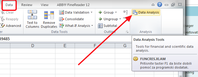 analiza podataka