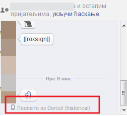 iskljucite lokaciju sa facebook messagnera