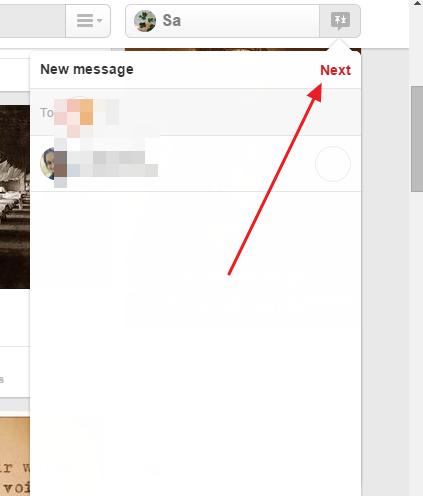 drugi korak slanja poruka