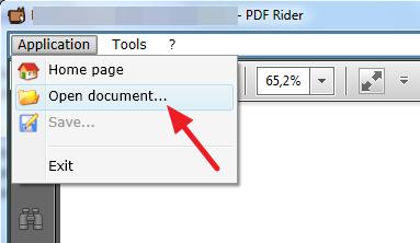 otvoriti pdf dokument