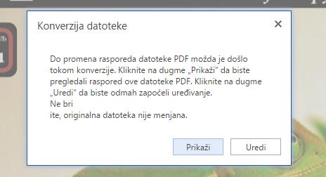 uredi PDF dokument