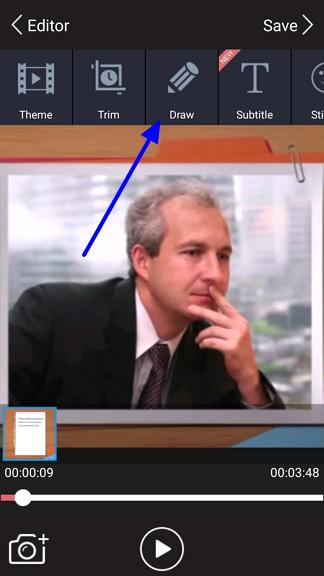crtanje po video snimku