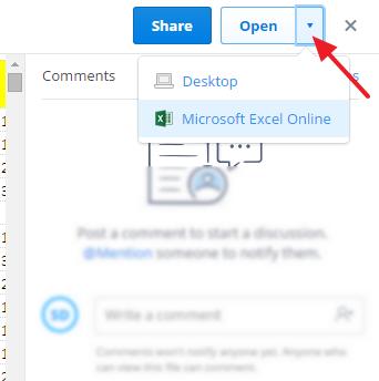 otvoriti fajl u officu onlajn