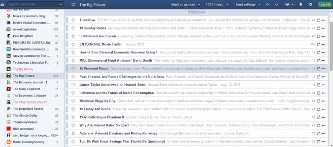 Inoreader – odličan internet RSS čitač