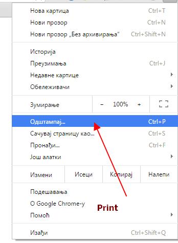 Kako da snimite veb stranicu u PDF na kompjuteru?