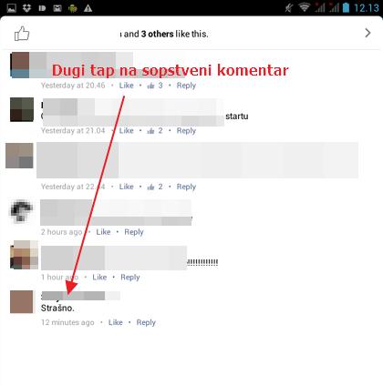 dugi tap komentar androdi aplikacija (1)