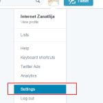 Kako promeniti korisničko ime na Tviteru?