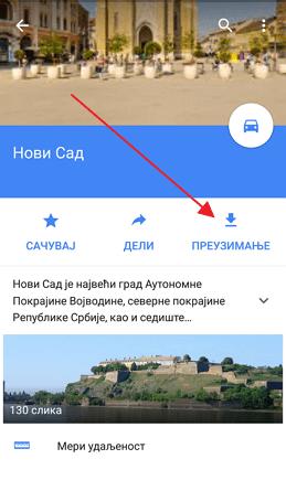 preuzimanje gugl mapa