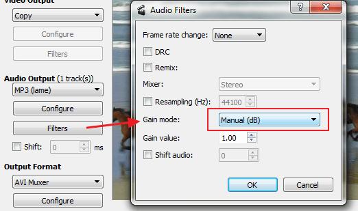 audio filter jaci zvuk