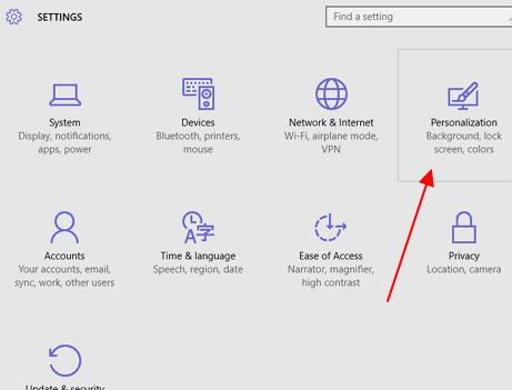 personalizacija windows 10