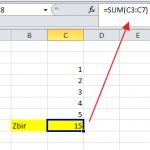 Funkcije SUM, SUMIF i SUMIFS u Excelu