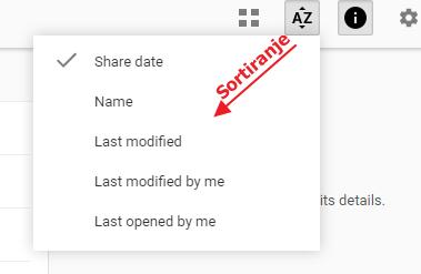 sortiranje datoteka