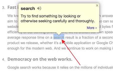 google recnik