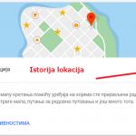Kako da vidite istoriju svojih lokacija u Google mapama?