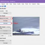 Kako da izrežete ivice na video snimku pomoću programa Avidemux?