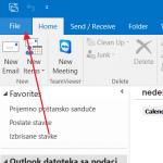 Kako napraviti email potpis u Outlooku 2013 i 2016?