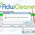 AdwCleaner – čišćenje tulbara, reklama i virusa iz internet pregledača