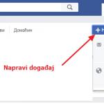 Kako da napravite i obrišete događaj na Fejsbuku?