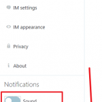 Kako da isključite zvučna obaveštenja sa Skajpa preko onlajn interfejsa?