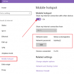 Kako da uključite mobilni hotspot u Windows 10 operativnom sistemu?