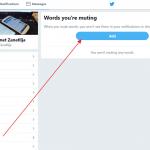 Kako sakriti tvitove koji sadrže određenu reč ili frazu?